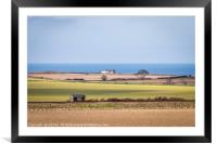The Linesman's Hut Weybourne, Framed Mounted Print