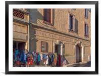 Roquebrun France, Framed Mounted Print