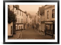 The Narrows, Totnes, Devon, Framed Mounted Print