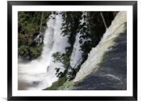 Iguazu falls, Argentina, Framed Mounted Print