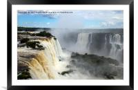 Iguazu Falls, Brazil, Framed Mounted Print