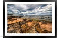 Hopeman Beach, Moray, Framed Mounted Print