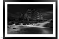 Anchor Mill Paisley, Framed Mounted Print