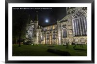 Durham Cathedral, Framed Mounted Print
