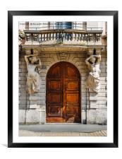 Dramatic Entrance, Framed Mounted Print