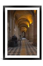 Ancient Archways, Framed Mounted Print