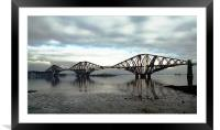 Forth Rail Bridge, Queensferry, Scotland, Framed Mounted Print