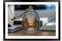 Captured In Glass - Newcastle Central Arcade, Framed Mounted Print