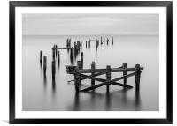 Swanage Old Pier, Framed Mounted Print