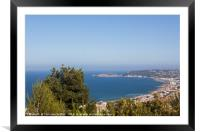 View to Javea, Framed Mounted Print