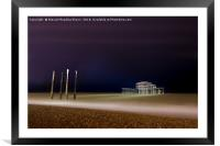 West Pier, Framed Mounted Print