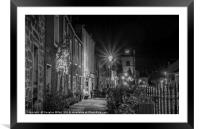 Queensferry High Street, Framed Mounted Print