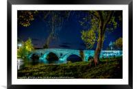 Kenmore Bridge by Night, Framed Mounted Print
