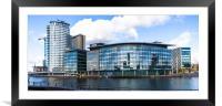 BBC Media Centre, Framed Mounted Print