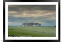 Arbor low, Framed Mounted Print