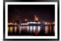 Imperial War Museum North, Salford., Framed Mounted Print