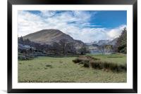 Patterdale , Framed Mounted Print