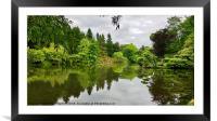 Parc du Oriental, Maulévrier, Pays de la Loire, Framed Mounted Print