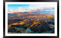 Coniston Fells from Beacon Fell, Framed Mounted Print