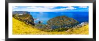 Tapotupotu Panorama, Framed Mounted Print