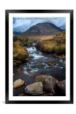 A Walk from Glenbrittle, Framed Mounted Print