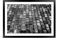 Cars cars cars, Framed Mounted Print