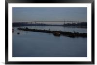 Bowling Harbour 44, Framed Mounted Print