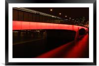 London Bridge 09, Framed Mounted Print