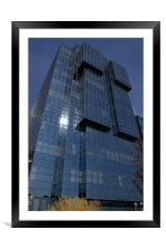 Office Building, Framed Mounted Print