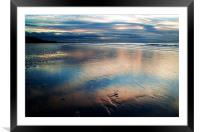 Dusk at Formby Point, Framed Mounted Print