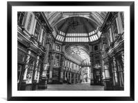 Leadenhall Market, Framed Mounted Print