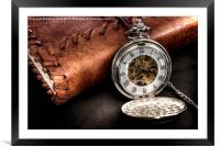 Pocket Watch, Framed Mounted Print