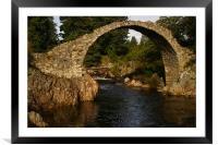 Carr-Bridge, Framed Mounted Print