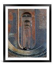 """It's a long walk"", Framed Mounted Print"