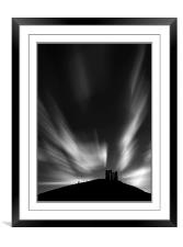 Folly on the hill, Framed Mounted Print