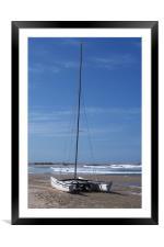 Catamaran, Framed Mounted Print
