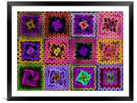 colours , Framed Mounted Print