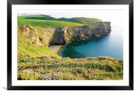 Beacon Cove, Framed Mounted Print