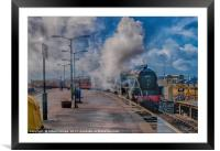 The Jacobite Steam Train, Framed Mounted Print