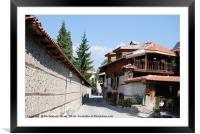 Bulgaria Bansko, Framed Mounted Print