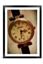 Time, Framed Mounted Print