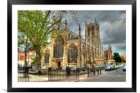 Holy Trinity Church Hull, Framed Mounted Print
