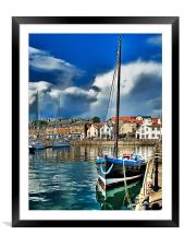 Anstruther Harbour, Framed Mounted Print