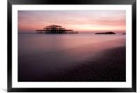 Brighton Pier, Framed Mounted Print