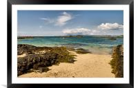 Isle of Skye from Arisaig, Framed Mounted Print