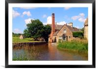 Mill at Lower Slaughter, Framed Mounted Print