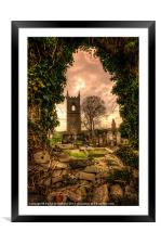 Tullylish Bell Tower, Framed Mounted Print