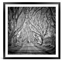 Going Home, Framed Mounted Print