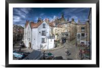ROBIN HOODS BAY VILLAGE 2011, Framed Mounted Print
