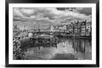 Whitby 2012, Framed Mounted Print